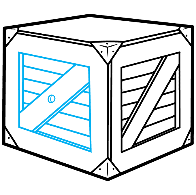 How to Draw a Box Step 07