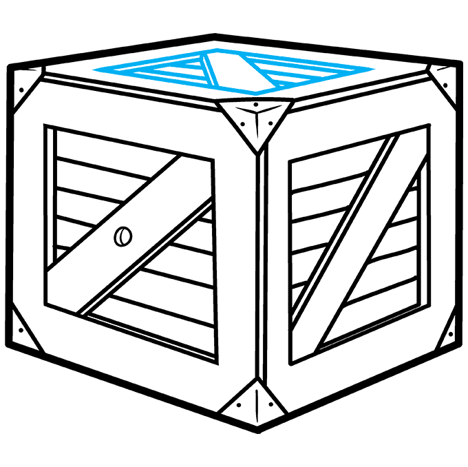 How to Draw a Box Step 08