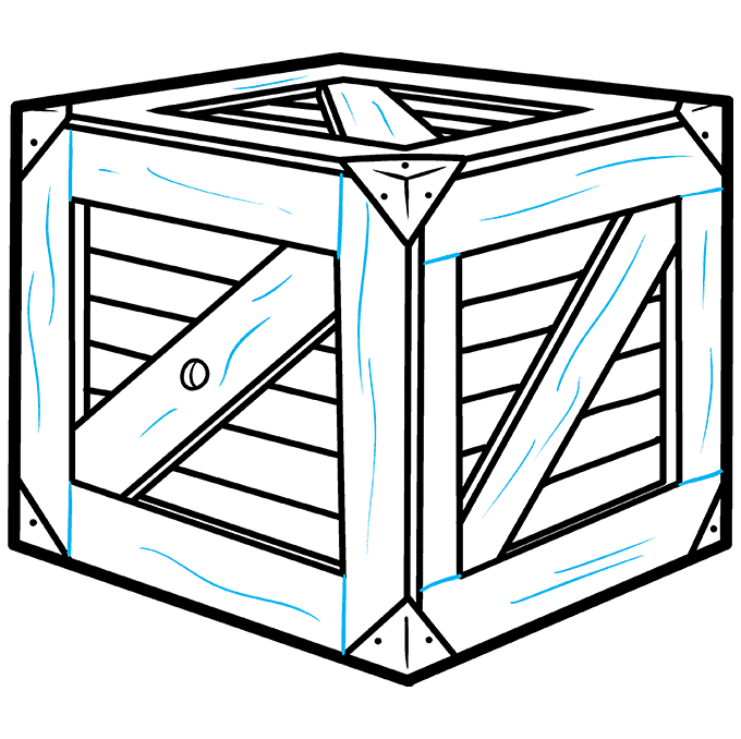 How to Draw a Box Step 09