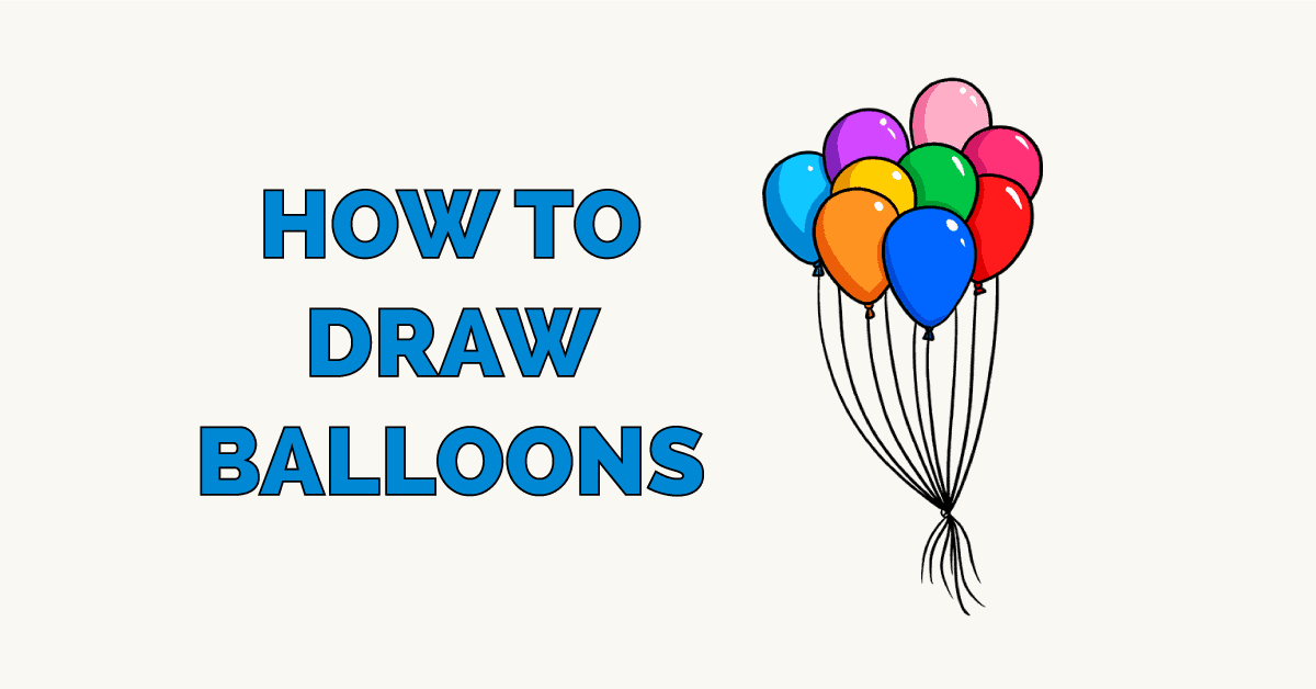 How to Draw Balloons Featured Image