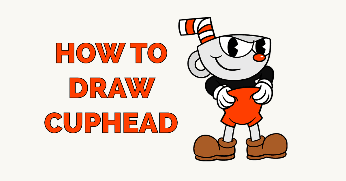 How to Draw Cuphead Featured Image