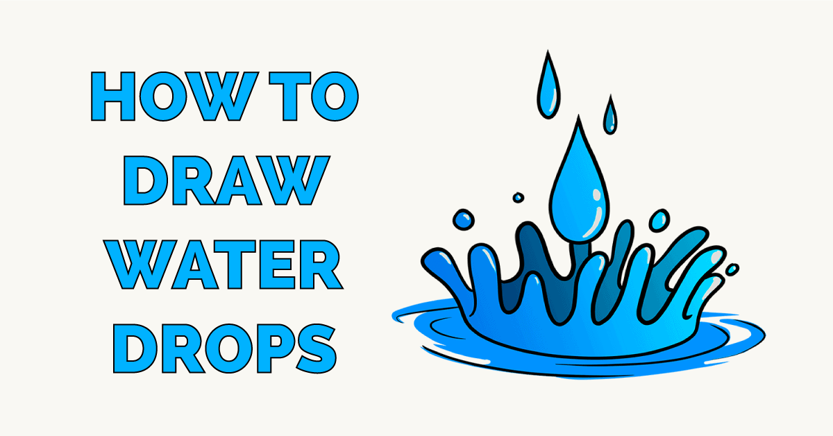 How to Draw Water Drops Featured Image