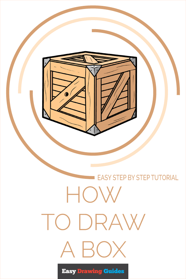 How to Draw a Box Pinterest Image