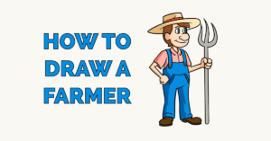 How to Draw a Farmer Featured Image