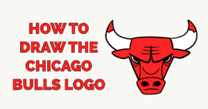 How to Draw the Chicago Bulls Logo Featured Image