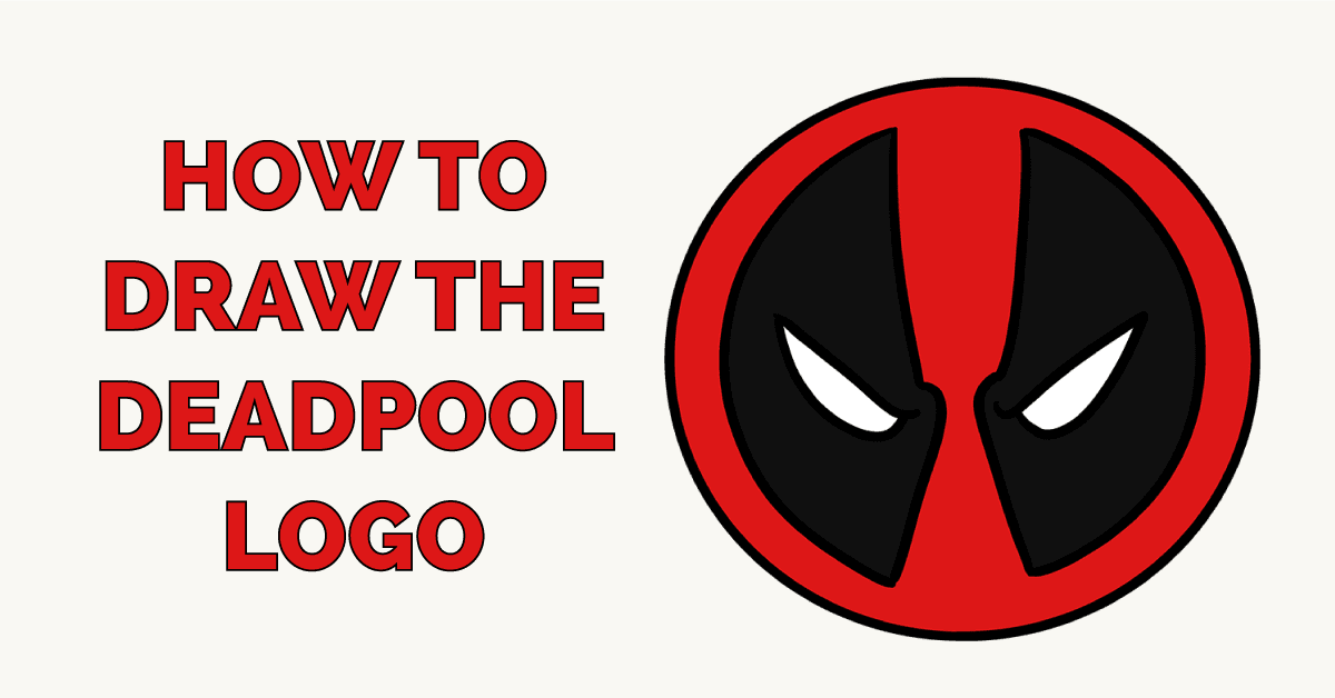 How to Draw the Deadpool Logo Featured Image