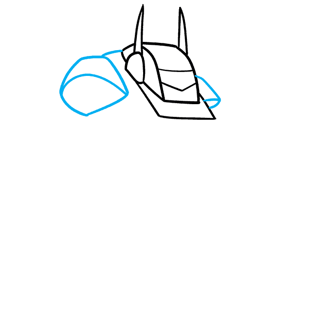 How to Draw a Mecha Step 03