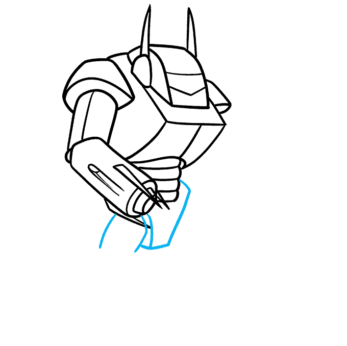 How to Draw a Mecha Step 06