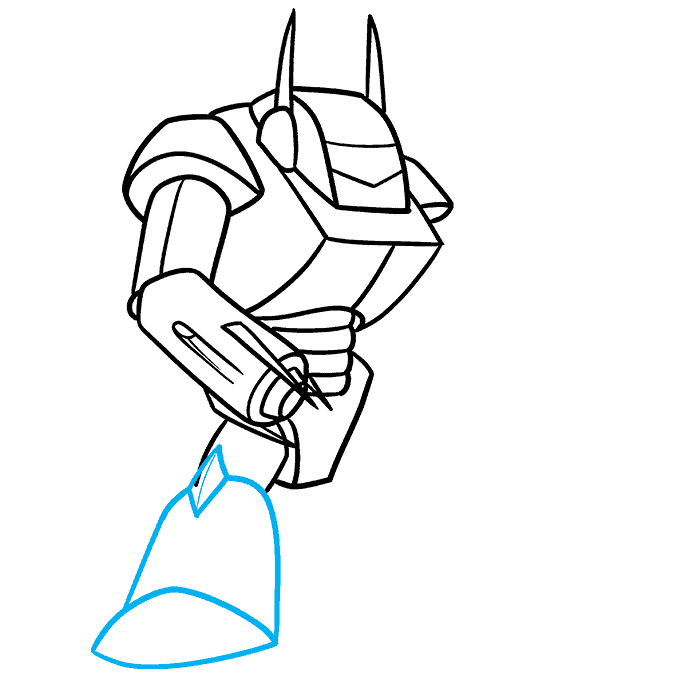 How to Draw a Mecha Step 07