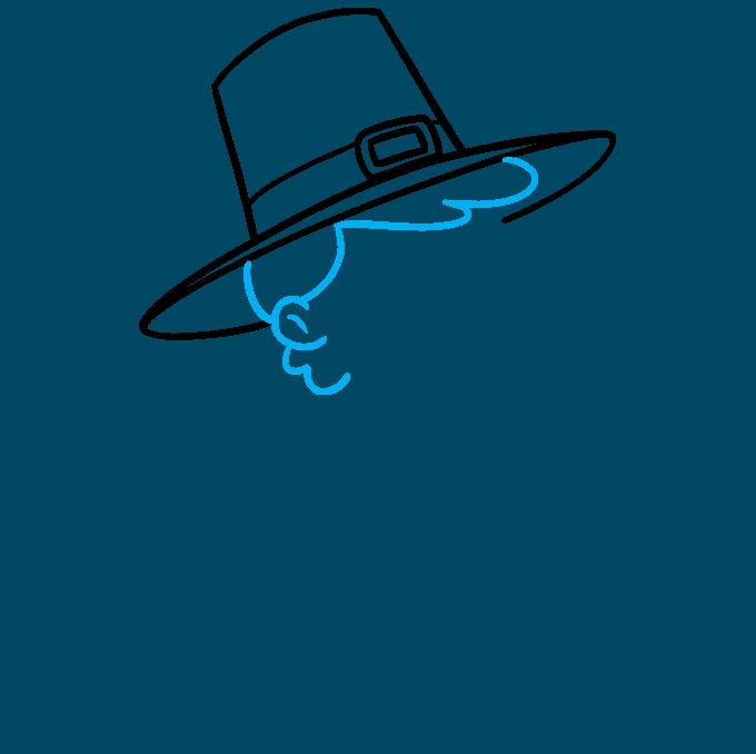 How to Draw a Pilgrim Step 03