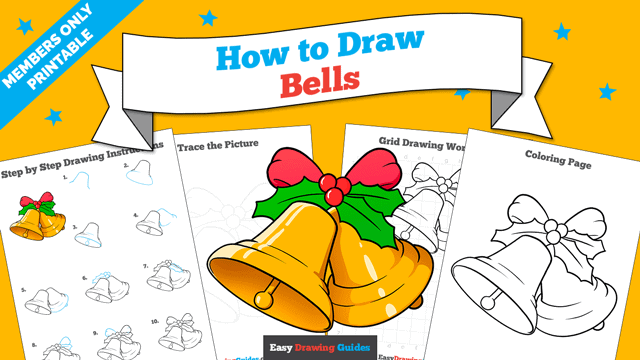 Printables thumbnail: How to Draw Bells