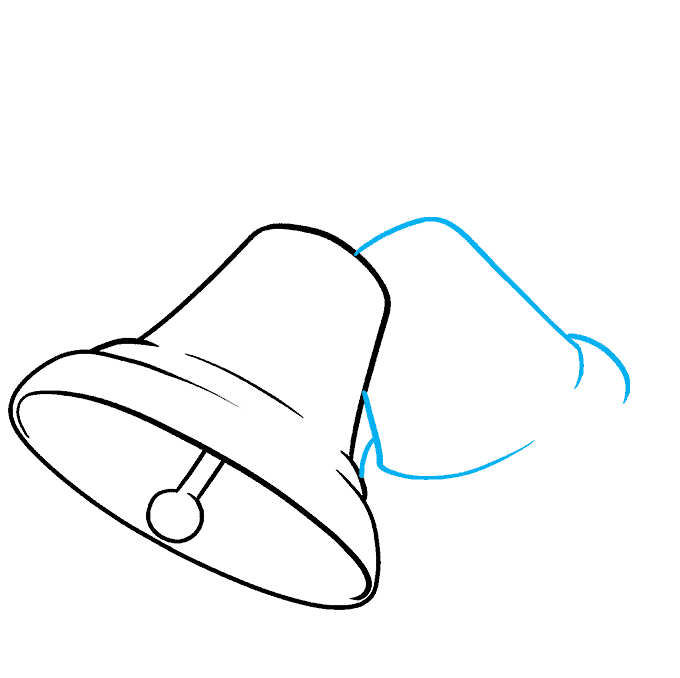 How to Draw Bells Step 04