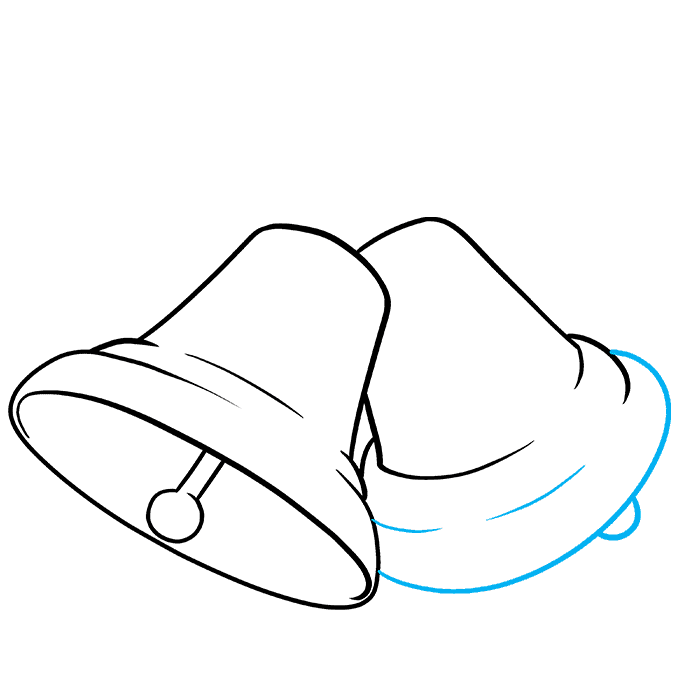 How to Draw Bells Step 05