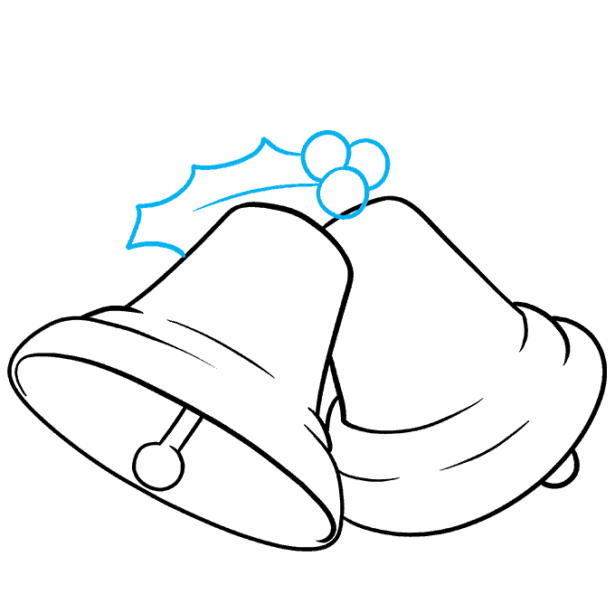 How to Draw Bells Step 06