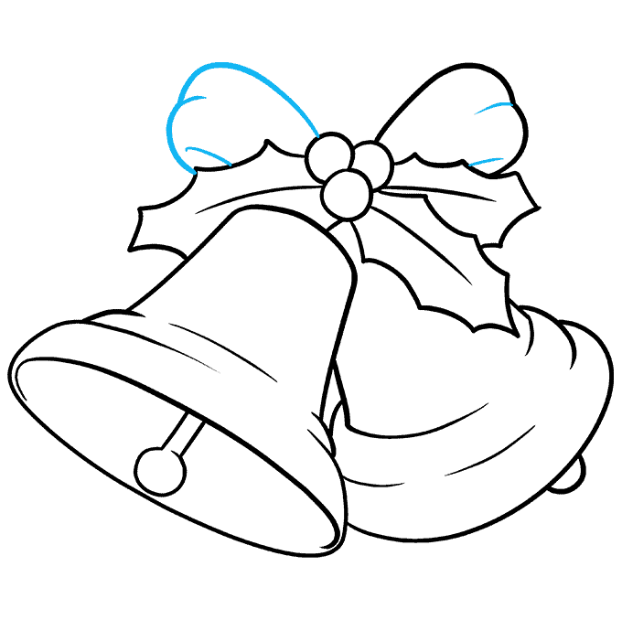 How to Draw Bells Step 09
