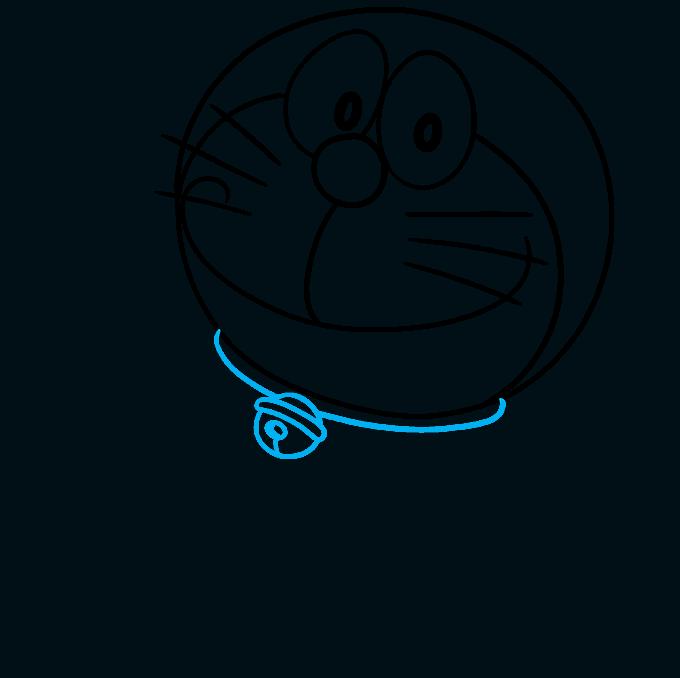 How to Draw Doraemon Step 05