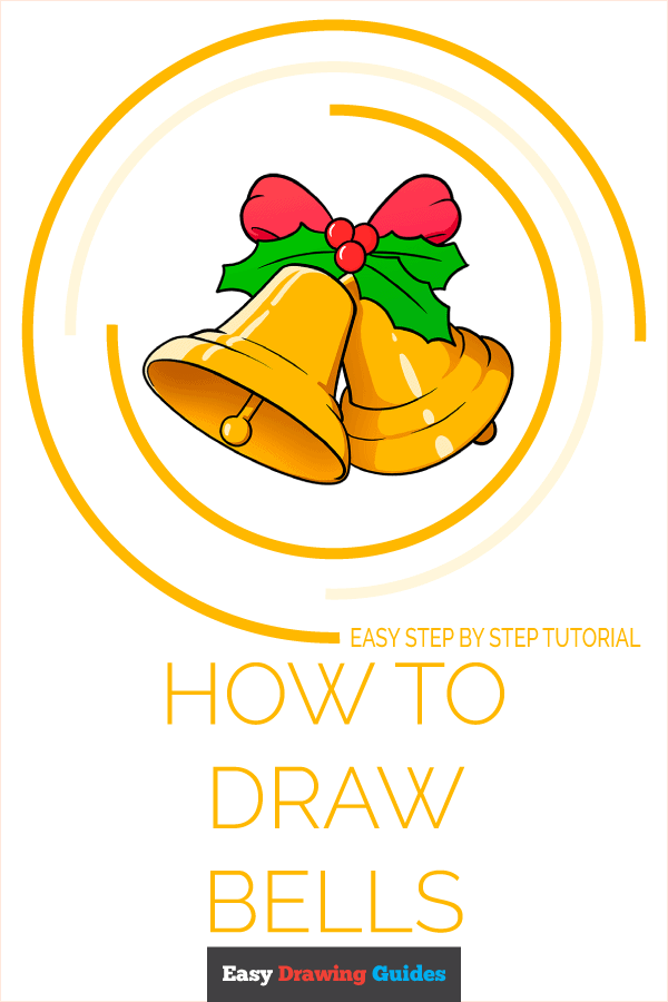 How to Draw Bells Pinterest Image