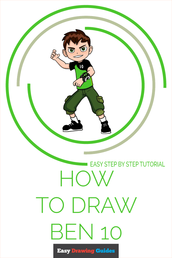 How to Draw Ben 10 Pinterest Image