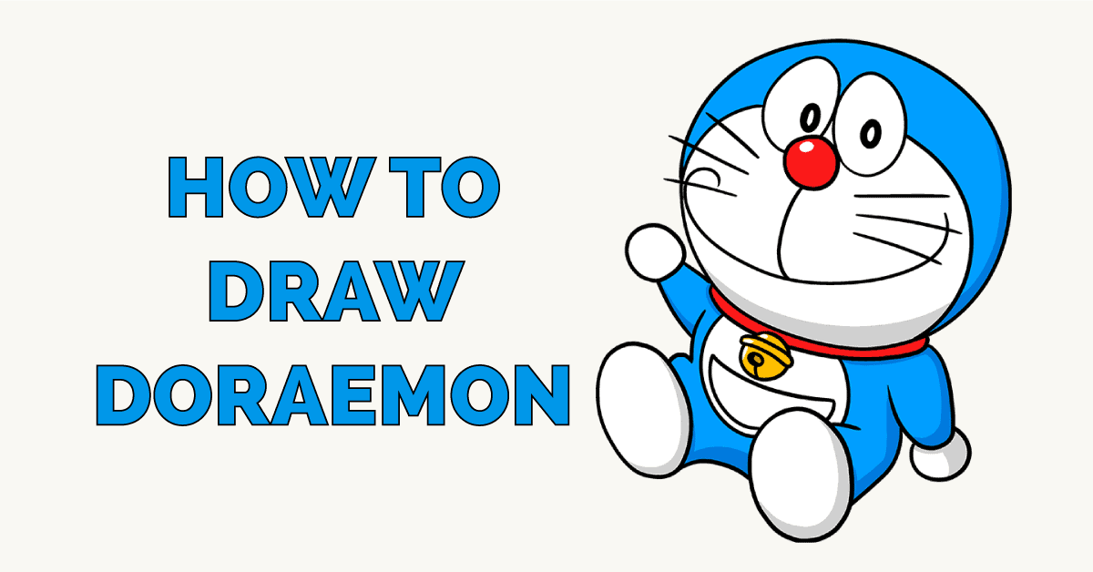 How to Draw Doraemon Featured Image
