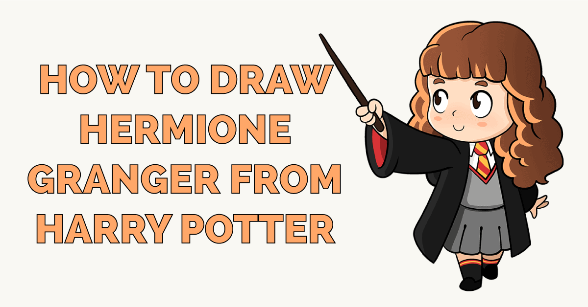How to Draw Hermione Granger from Harry Potter Featured Image