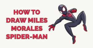 How to Draw Miles Morales Spider-Man Featured Image