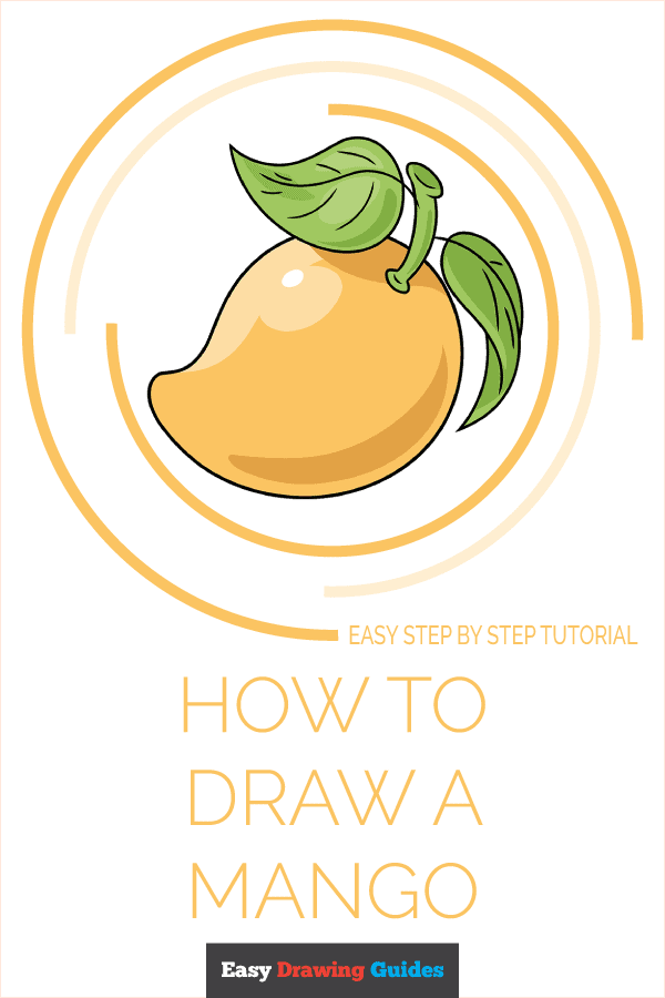 How to Draw a Mango Pinterest Image