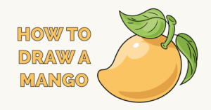 How to Draw a Mango Featured Image