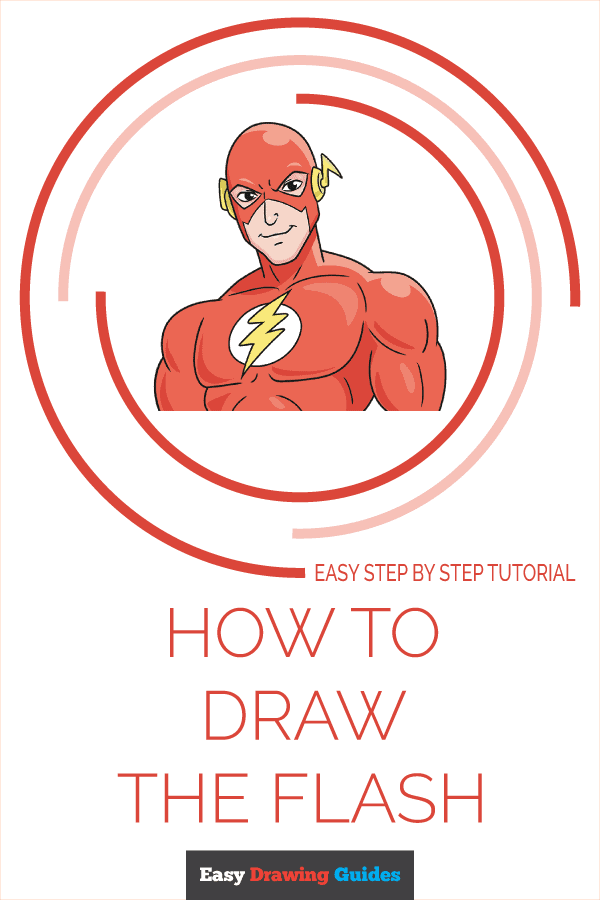 How to Draw the Flash Pinterest Image