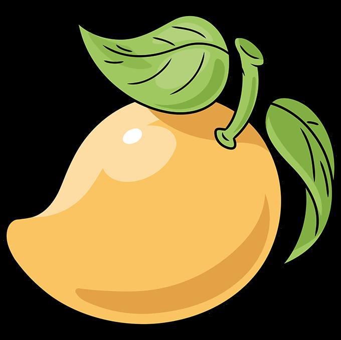 How to Draw a Mango Step 10
