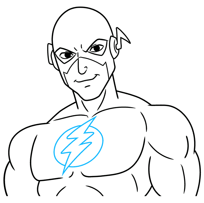 How to Draw the Flash Step 09