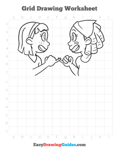1099 how to draw Best Friends - ebook grid page thumbnail 300h