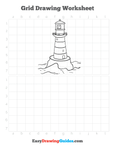 256 how to draw a lighthouse - ebook grid page thumbnail 300h