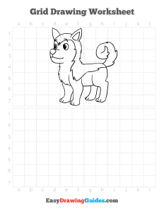 335 how to draw a husky - ebook-grid-page-thumbnail