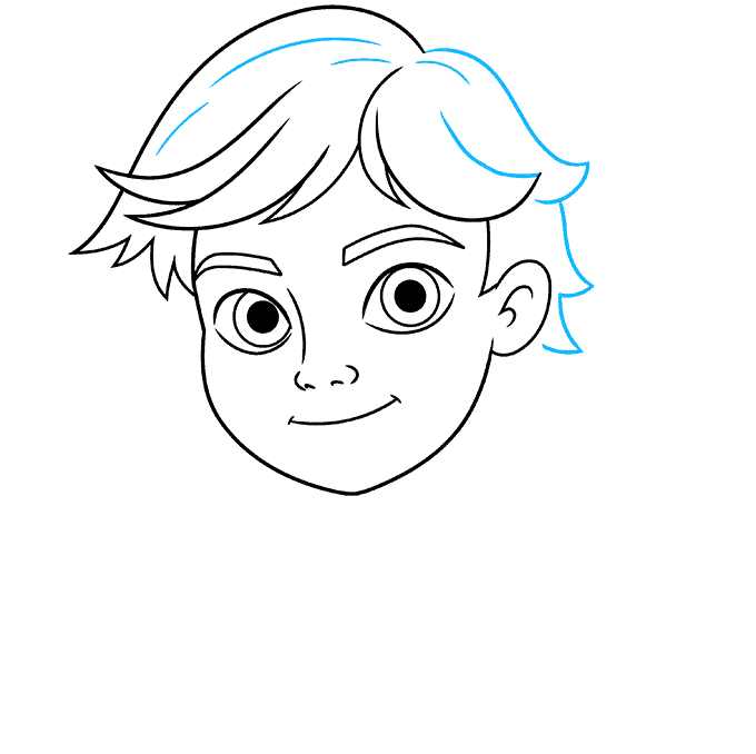 how to draw adrien agreste from miraculous featured image 06