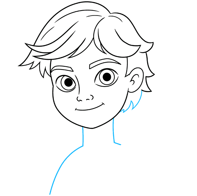 how to draw adrien agreste from miraculous featured image 07