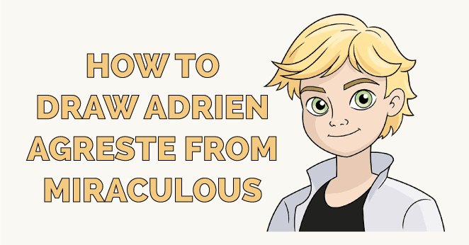 how to draw adrien agreste from miraculous featured image