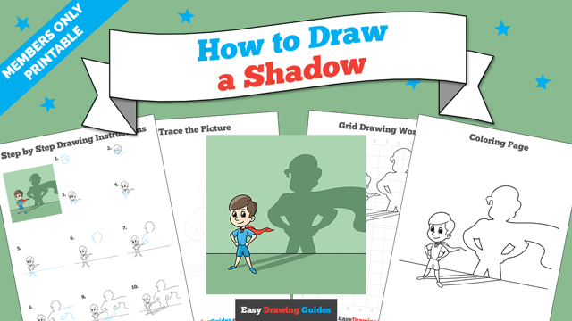 Printables thumbnail: How to Draw a Shadow