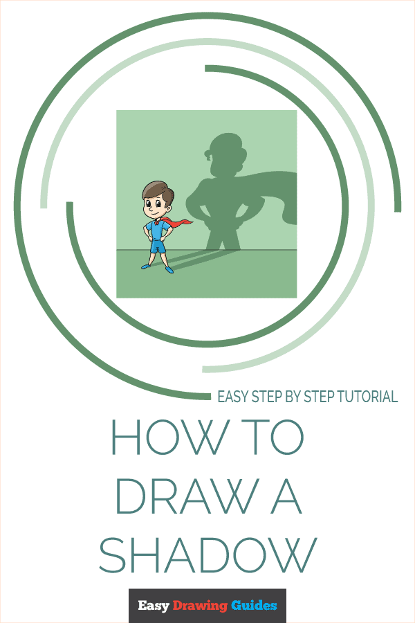 how to draw a shadow pinterest image