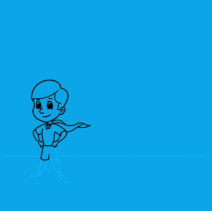 shadow step-by-step drawing tutorial: step 05
