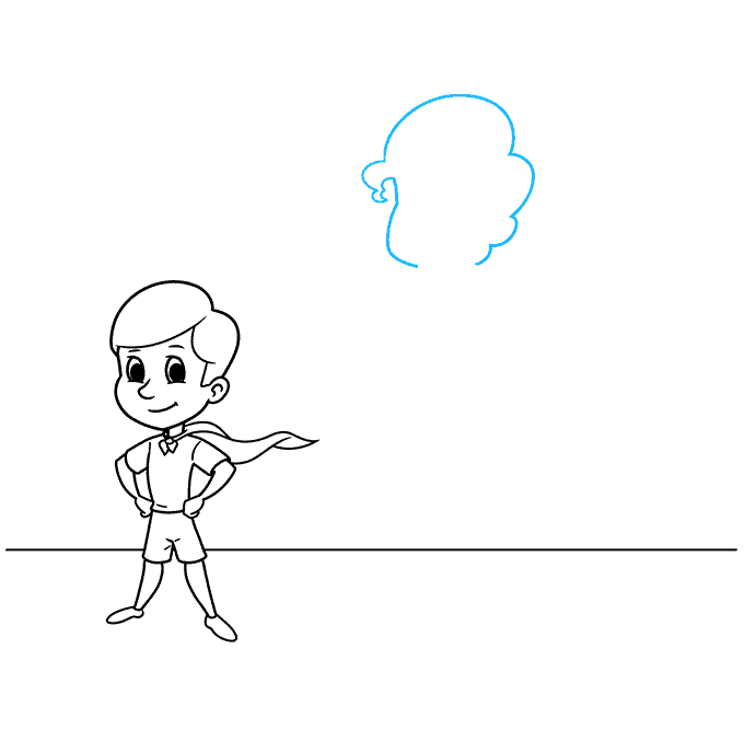 shadow step-by-step drawing tutorial: step 06