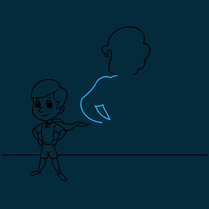 shadow step-by-step drawing tutorial: step 07