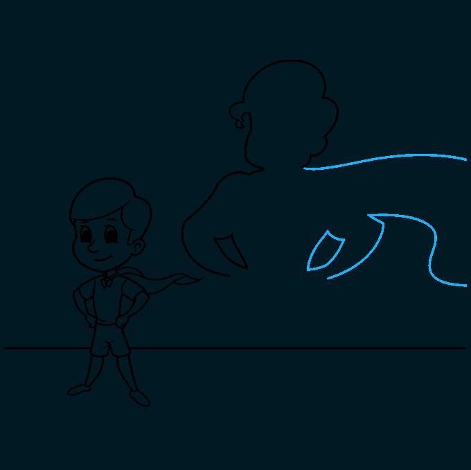 shadow step-by-step drawing tutorial: step 08
