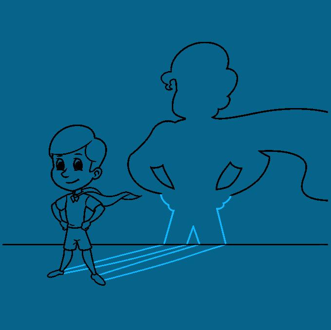 shadow step-by-step drawing tutorial: step 09