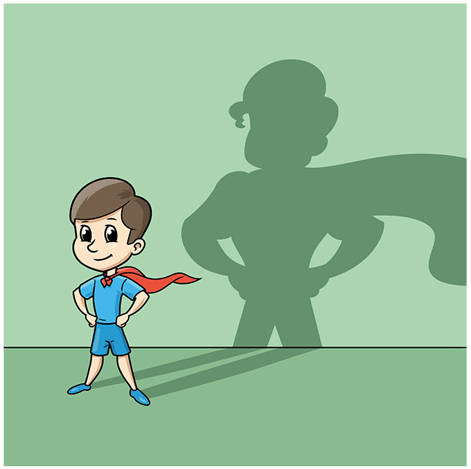 shadow step-by-step drawing tutorial: step 10