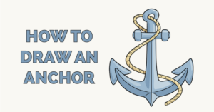 how to draw an anchor featured image