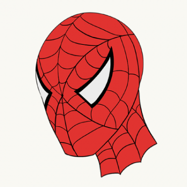 Spiderman Face